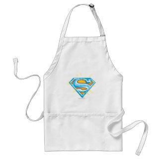 Superman S-Shield | Blue and Orange Logo Standard Apron
