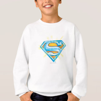Superman S-Shield | Blue and Orange Logo Sweatshirt