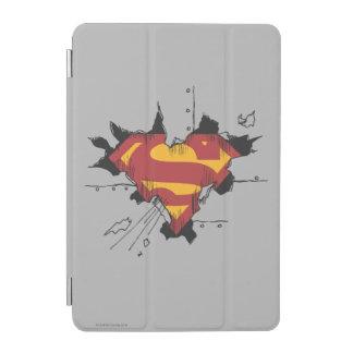 Superman S-Shield | Broken Metal Logo iPad Mini Cover