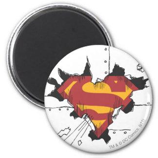 Superman S-Shield | Broken Metal Logo Magnet