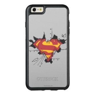 Superman S-Shield | Broken Metal Logo OtterBox iPhone 6/6s Plus Case