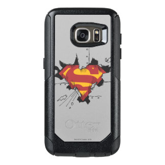 Superman S-Shield | Broken Metal Logo OtterBox Samsung Galaxy S7 Case