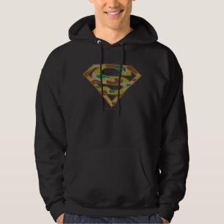 Superman S-Shield   Camouflage Logo Hoodie