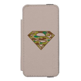 Superman S-Shield | Camouflage Logo Incipio Watson™ iPhone 5 Wallet Case