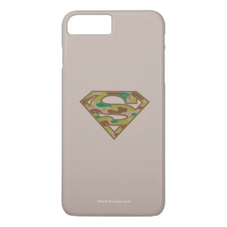 Superman S-Shield | Camouflage Logo iPhone 8 Plus/7 Plus Case