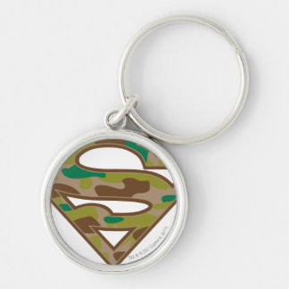 Superman S-Shield | Camouflage Logo Key Ring