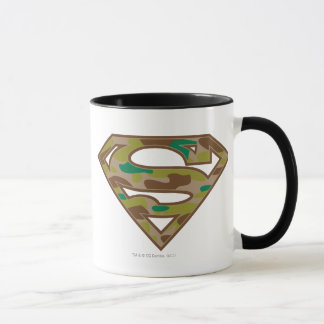Superman S-Shield | Camouflage Logo Mug