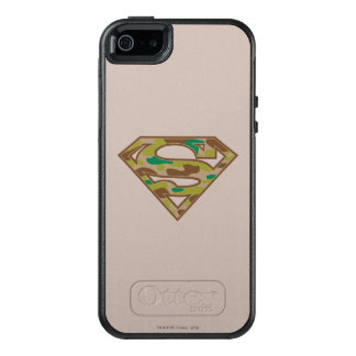 Superman S-Shield | Camouflage Logo OtterBox iPhone 5/5s/SE Case