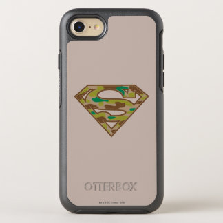 Superman S-Shield | Camouflage Logo OtterBox Symmetry iPhone 8/7 Case