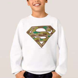 Superman S-Shield | Camouflage Logo Sweatshirt