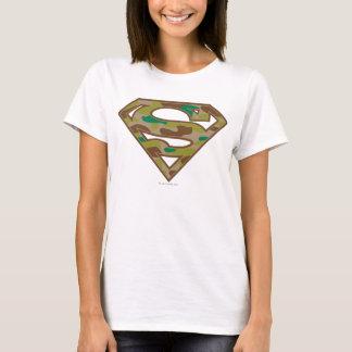 Superman S-Shield | Camouflage Logo T-Shirt