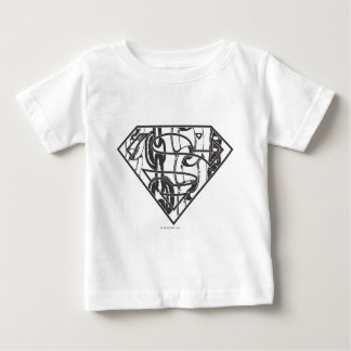 Superman S-Shield | Chainlink Logo Baby T-Shirt