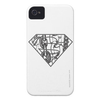 Superman S-Shield | Chainlink Logo Case-Mate iPhone 4 Cases