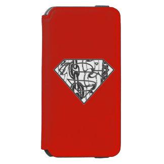 Superman S-Shield | Chainlink Logo Incipio Watson™ iPhone 6 Wallet Case