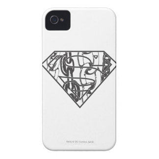 Superman S-Shield | Chainlink Logo iPhone 4 Cover
