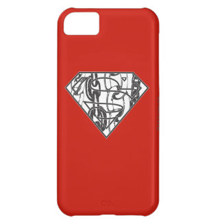 Superman S-Shield   Chainlink Logo iPhone 5C Case