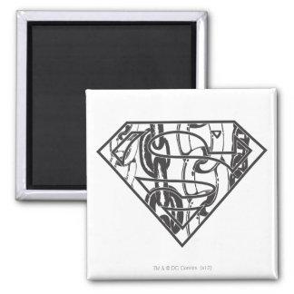 Superman S-Shield | Chainlink Logo Magnet
