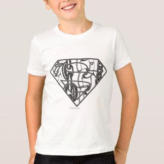 Superman S-Shield   Chainlink Logo T-Shirt