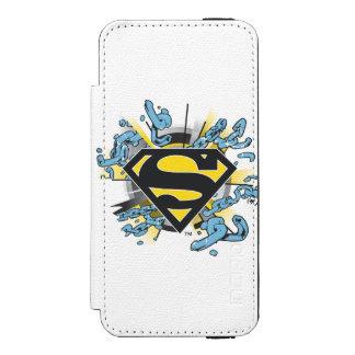 Superman S-Shield | Chains Logo Incipio Watson™ iPhone 5 Wallet Case