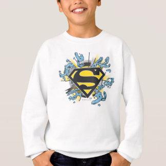Superman S-Shield | Chains Logo Sweatshirt