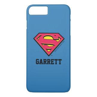 Superman S-Shield | Classic Logo 2 | Add Your Name iPhone 8 Plus/7 Plus Case