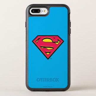 Superman S-Shield | Classic Logo 3 OtterBox Symmetry iPhone 7 Plus Case