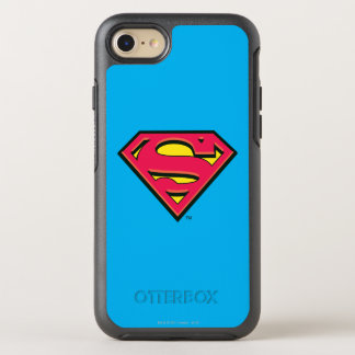 Superman S-Shield | Classic Logo 3 OtterBox Symmetry iPhone 8/7 Case