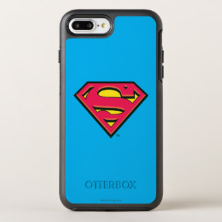Superman S-Shield | Classic Logo 3 OtterBox Symmetry iPhone 8 Plus/7 Plus Case