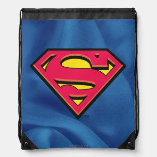 Superman S-Shield   Classic Logo Drawstring Bag