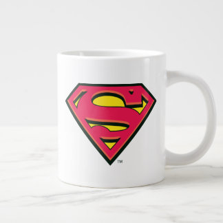 Superman S-Shield   Classic Logo Giant Coffee Mug