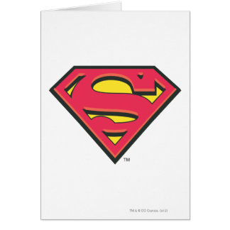 Superman S-Shield | Classic Logo Greeting Card