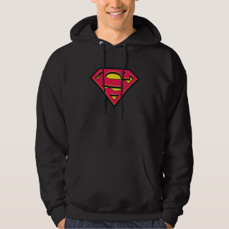 Superman S-Shield   Classic Logo Hoodie