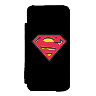 Superman S-Shield | Classic Logo Incipio Watson™ iPhone 5 Wallet Case