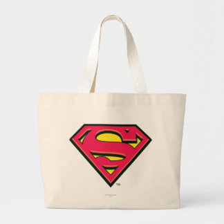 Superman S-Shield | Classic Logo Large Tote Bag