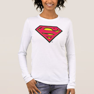 Superman S-Shield | Classic Logo Long Sleeve T-Shirt
