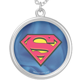 Superman S-Shield | Classic Logo Silver Plated Necklace