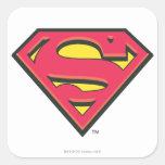 Superman S-Shield | Classic Logo Square Sticker