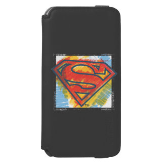 Superman S-Shield | Colored Logo Incipio Watson™ iPhone 6 Wallet Case