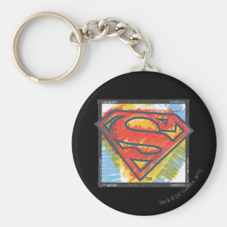 Superman S-Shield | Colored Logo Key Ring
