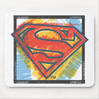 Superman S-Shield | Colored Logo Mouse Pad