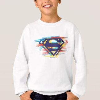 Superman S-Shield | Colorful Logo Sweatshirt