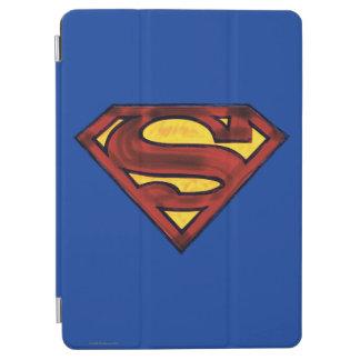 Superman S-Shield | Darkened Red Logo iPad Air Cover