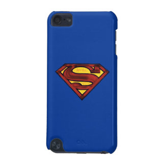Superman S-Shield | Darkened Red Logo iPod Touch (5th Generation) Covers
