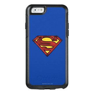 Superman S-Shield | Darkened Red Logo OtterBox iPhone 6/6s Case