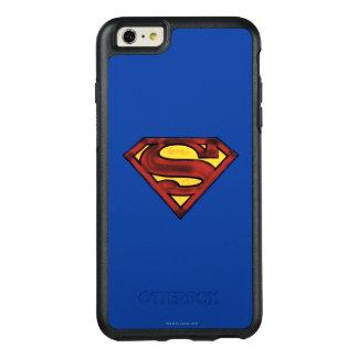 Superman S-Shield | Darkened Red Logo OtterBox iPhone 6/6s Plus Case