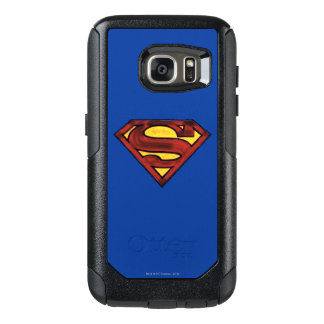 Superman S-Shield | Darkened Red Logo OtterBox Samsung Galaxy S7 Case