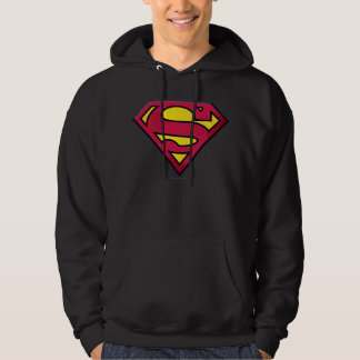 Superman S-Shield | Dirt Logo Hoodie