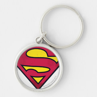 Superman S-Shield | Dirt Logo Key Ring