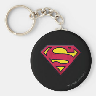 Superman S-Shield | Dirt Logo Key Ring
