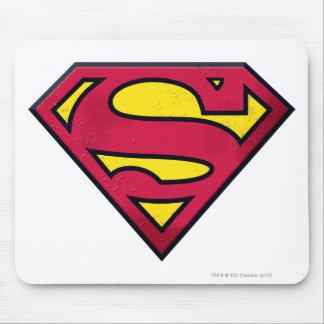 Superman S-Shield | Dirt Logo Mouse Pad